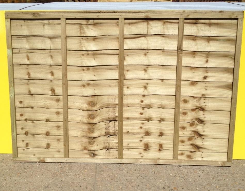 Heavy Duty Overlap Panels 4ft X 6ft Roger Hanley Fencing