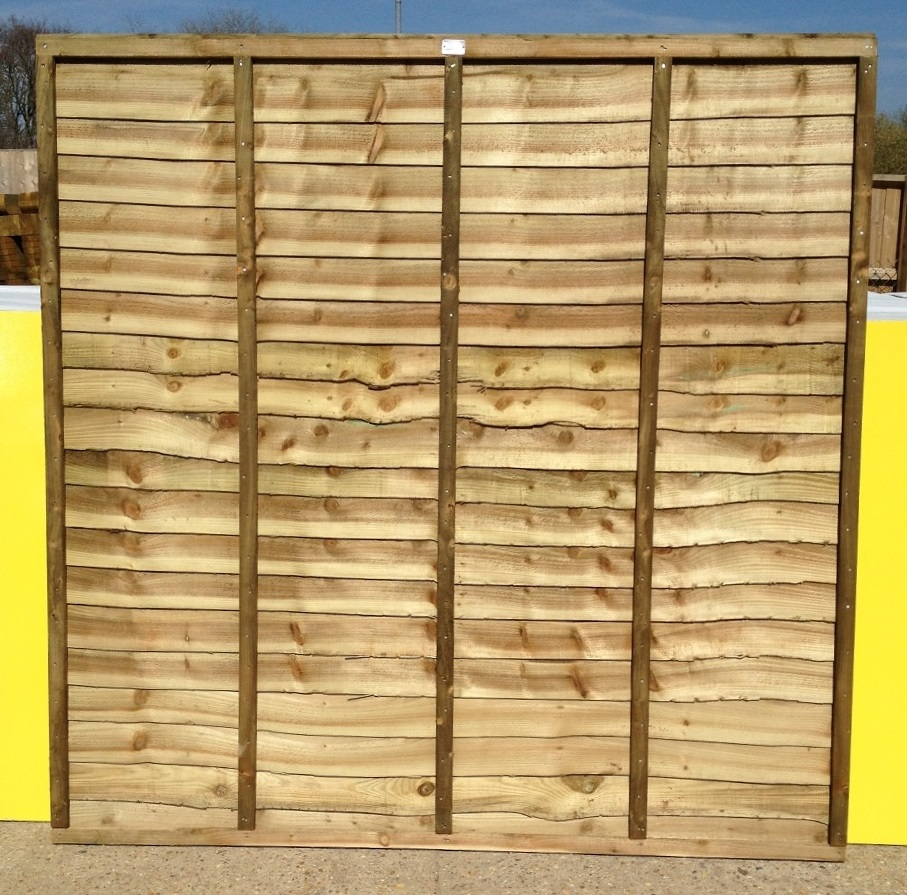 Heavy Duty Overlap Panels 6ft X 6ft Roger Hanley Fencing