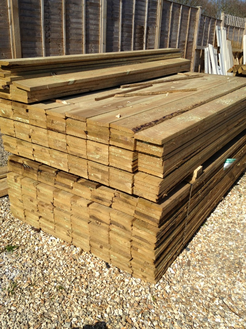 Gravel Boards 2 40m 8ft X 150mm 6 X 22mm 1 Roger