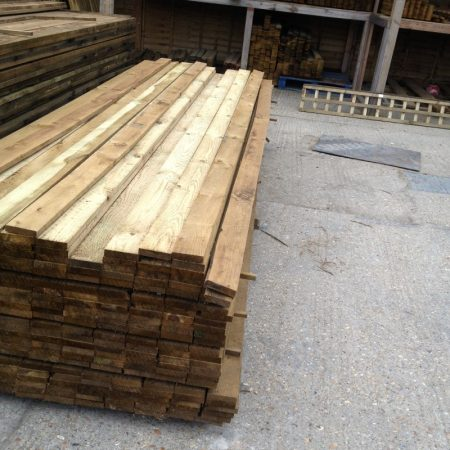 "Gravel Boards 3.60m [12ft] x 100mm [4""] x 22m [1""]"