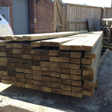 Eased Edge Carcassing 3.60m x 100mm x 47mm