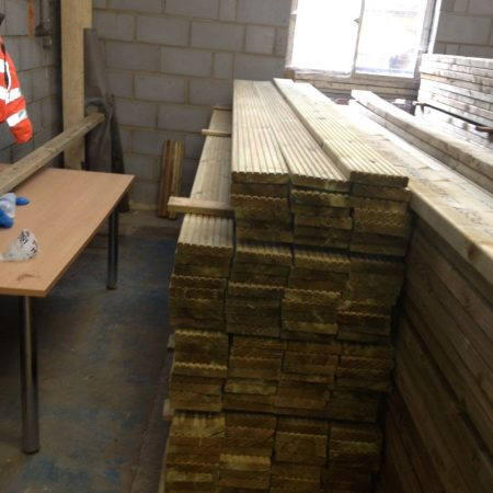 Swedish Decking 3.60m x 150mm x 32
