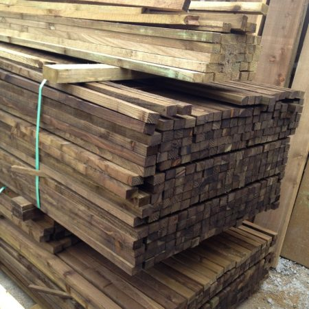 3.60m x 50mm x 32mm used for making closeboard panels
