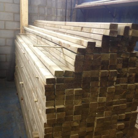 Eased Edge Carcassing 3.60m x 75mm x 47mm