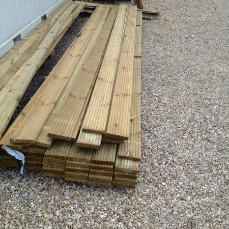 Swedish Decking 4.80m 150mm x 32mm