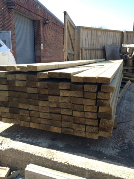 Eased Edge Carcassing 4.80m x 100mm x 47mm