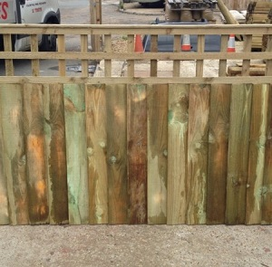 Closeboard with Built in Trellis