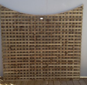 Concave Screen Trellis