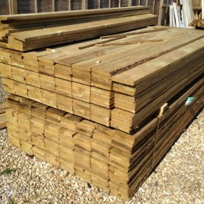 "Gravel boards 150mm [6""] x 22mm"