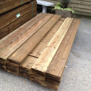 "Heavy Duty Gravel boards 200mm [8""] x 38mm"