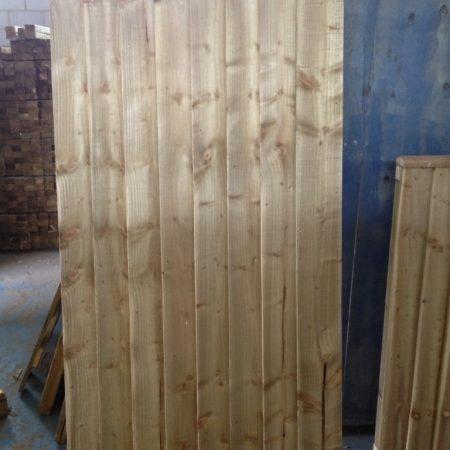 Wooden Gate 1.80m [6ft] high x 1200mm [4ft]