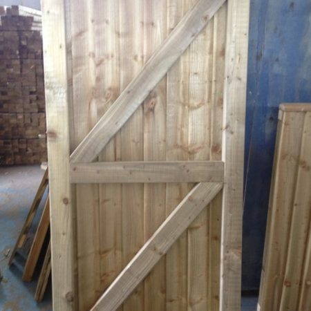 Wooden Gate 1.80m [6ft] high x 1200mm [4ft]
