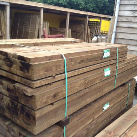 "New Sleepers 2.40m [8ft] x 200mm [8""] x 38mm [1 1/2""]"