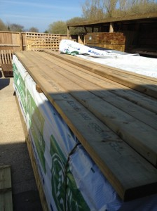 Eased Edge Carcassing 4.80m x 150mm x 47mm