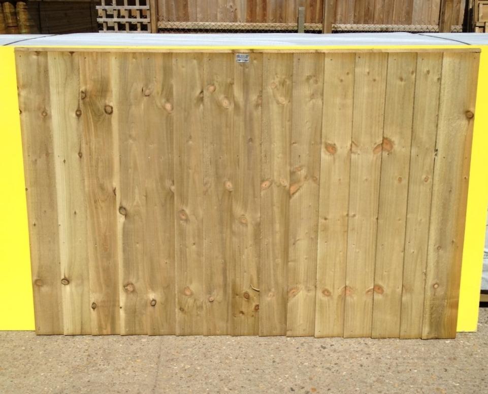 Closeboard Panels 6ft x 600mm