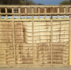 Overlap Panels with Built in Trellis