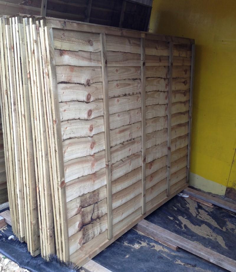 Heavy Duty Overlap Panels 5ft X 6ft Roger Hanley Fencing