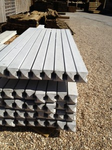 Slotted Posts 2.40m [8ft] Intermediate