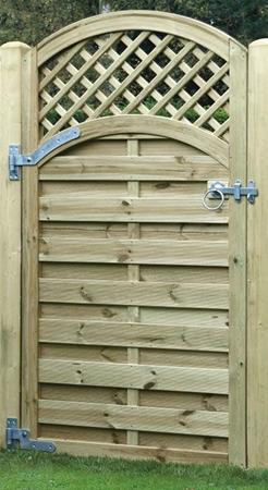 Planed Timber Gates